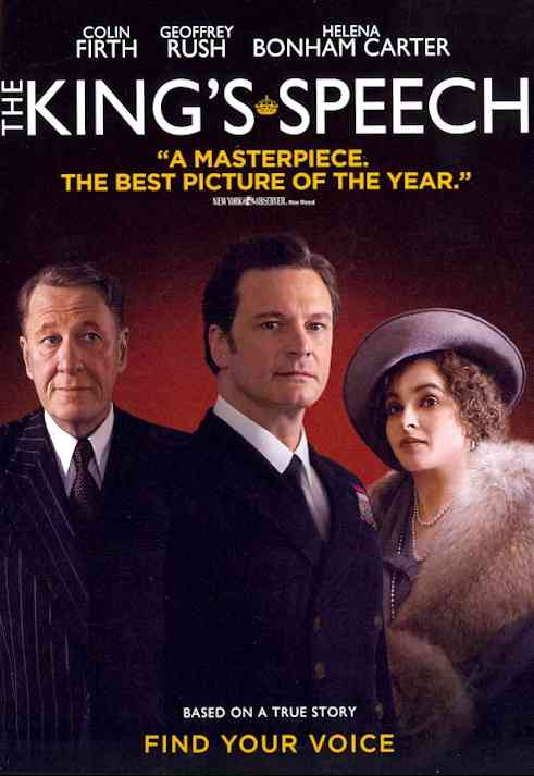 KING'S SPEECH BY FIRTH,COLIN (DVD)